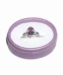 Inel din argint cu cristal de sultanit