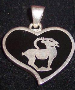 Pandantiv unisex din argint - Capricorn