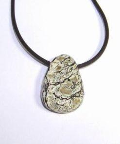 Pandantiv din serpentin - Ochiul Argintului