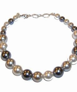 Bratara din perle de cultura cu inchizatoare din argint