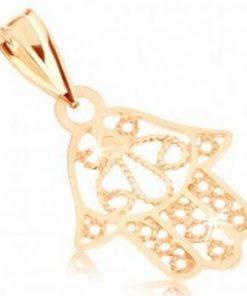Pandantiv din aur de 9K - Palma lui Fatima