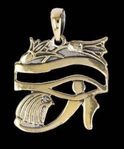 Pandantiv din bronz - Ochiul lui Horus
