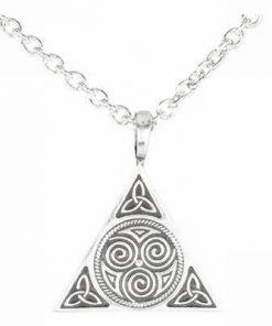 Talisman celtic cu cele 3 tipuri de noroc din aliaj