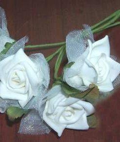 Buchet de 5 trandanfiri albi - remediu Feng Shui