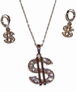 Set placat cu argint - simbolul Dolarului