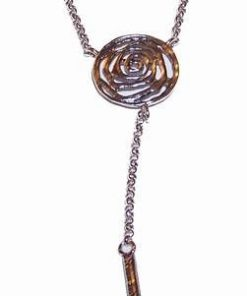 Pandantiv din argint cu spirala Reiki - stilizat