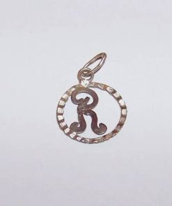 Pandantiv din argint cu initiala -R-- model deosebit!