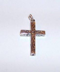 Cruciulita din argint - pandantiv unisex