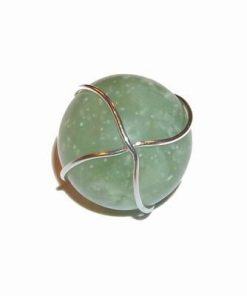 Pandantiv - Sfera magica din jad in montura