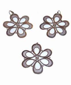 Set din argint - Floarea Vietii