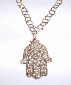 Colier din argint cu Palma Fatimei