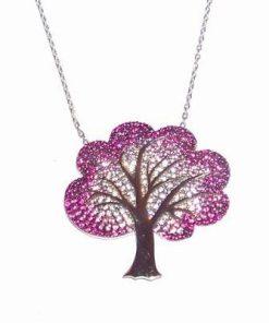 Pandantiv - Copacul Vietii din argint