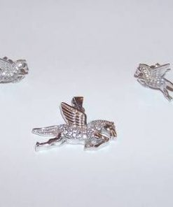 Set din argint - Unicorn / Inorog