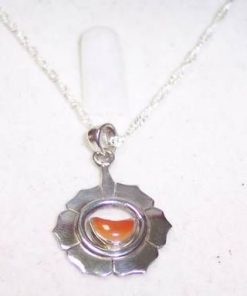 Chakra Svadhisthana - model unicat !din argint 925 cu lant