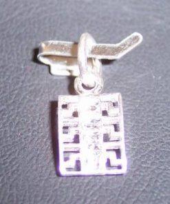 Pandantiv din argint cu cristale Swarovski