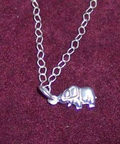 Elefantul fertilitatii din argint