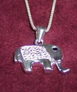 Elefantul prosperitatii din argint - model deosebit !