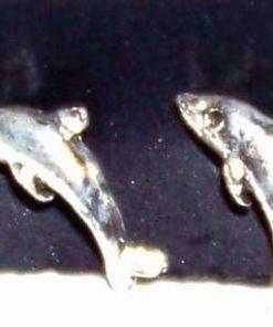 Cercei din argint cu delfinii dragostei - model deosebit!