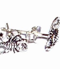 Cercei din argint cu scorpioni - model deosebit!