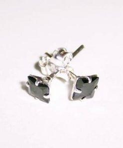 Cercei din argint cu cristal pentru noroc