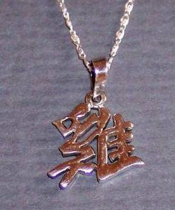 Pandantiv din argint - zodia Cocos pe lantisor din argint