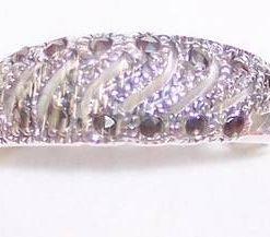 Inel din argint cu marcasit - model deosebit
