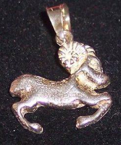Pandantiv unisex din argint - Berbec