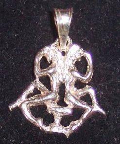 Pandantiv unisex din argint - Gemeni