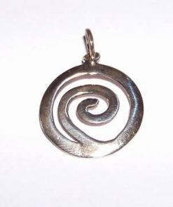 Pandantiv din argint - simbol Reiki de protectie