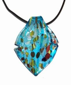 Pandantiv din cristal de Murano - bleu