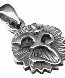 Pandantiv unisex din argint cu simbolul Tao/Om