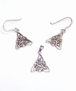 Set din argint cu simboluri celtice