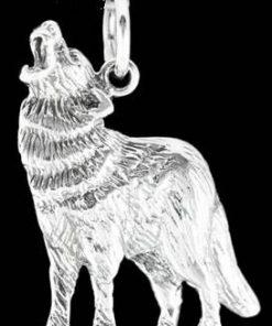 Lupul magic - pandantiv din argint - unisex