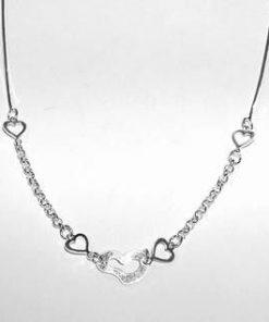 Bratara iubirii absolute din argint