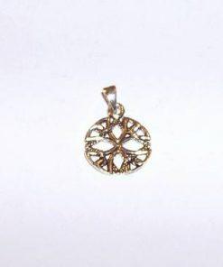 Crucea celtica din argint - pandantiv unisex