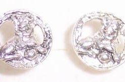 Cercei din argint cu zodia Leu - model deosebit !