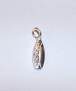 Pandantiv din argint cu simbolul sanatatii
