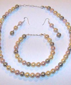 Set din perle de cultura cu argint - Examene