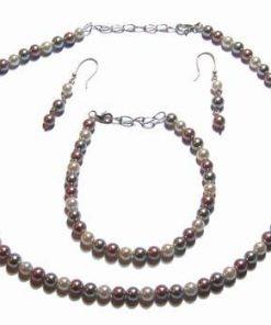 Set din perle de cultura cu argint - Calatorii