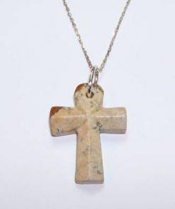 Cheia egipteana din jasp, pe lant din argint