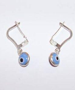 Cercei cu Ochiul lui Horus - bleu