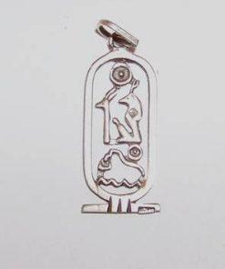 Pandantiv unisex cu simboluri de protectie si noroc