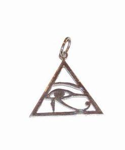 Pandantiv din argint cu Ochiul lui Horus - unisex