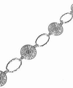 Bratara din argint cu simbolul sanatatii