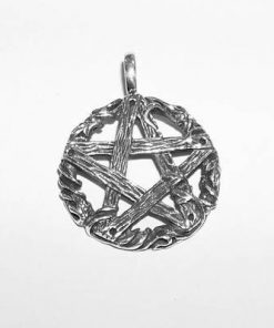 Pentagrama din argint