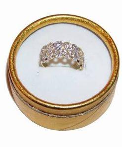 Inel din argint 925 cu cristale Swarowski