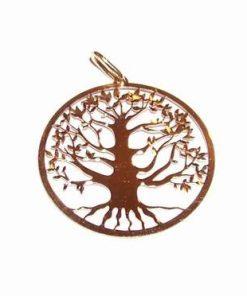 Pandantiv din aur de 14 K - Copacul Vietii