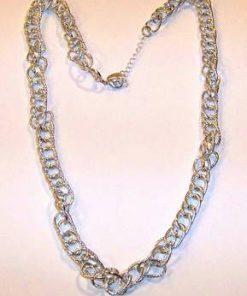 Colier placat cu argint - zale mari