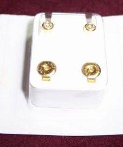 Cercei sterilizati placati cu aur - model deosebit !