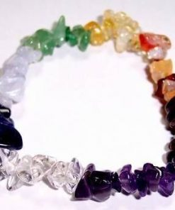 Bratara din cristale mixte a celor 7 chakre